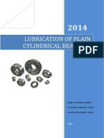 Lubrication of Plain Cylindrical Bearings