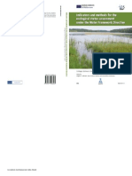 Indicator and Methods for the Ecological Status Assessment Under the WFD Linkages Between Chemical and Biological Quality of Surface Waters (1)
