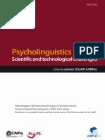 Psycholinguistics ISAPL Cabral