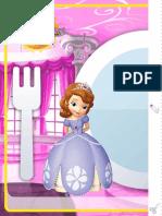 Princesita Sofia Mantel