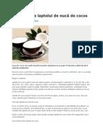 Beneficii ale laptelui de nucă de cocos.docx