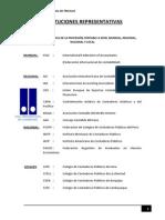 Instituciones Representativas Doc. Cont.