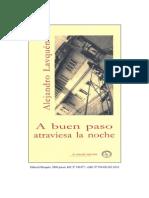Lavquen, Alejandro - A Buen Paso Atraviesa La Noche