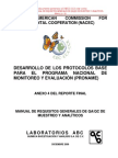 Manual de Requisitos de Qaqc Inecc 2013