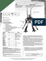 Data Sheet Eldar Phantom Titan