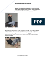SFMA Shoulder Corrective Exercises by 