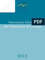 Instruction de l'Office de Changes