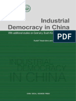 Industrial Democracy in China
