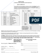 Order Form Pesticide Applicator Certification Manuals Read Carefully Instructions: