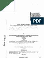 Contratto Vaccino H1N1 Novartis-Ministero italiano