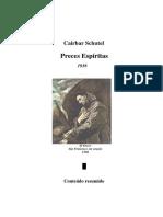 Preces Espíritas (Cairbar Schutel)