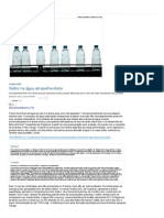 Sódio na água atrapalha dieta - Saúde - Gazeta do Povo