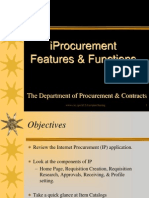 Iprocurement Features and Functions
