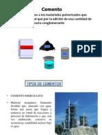 procesos cemento