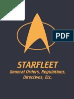 Starfleet General Orders, Regulations, Directives, etc