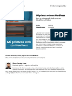 Mi Primera Web Con Wordpress by Blade