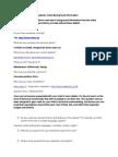 Chestionar Web English
