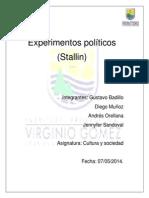 Experimentos políticos
