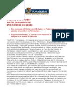 Com0613, 280206 Eugenio Hernández impulsa sector pesquero.