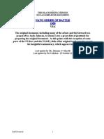 Nato Order of Battle Mod 8