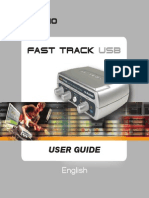 M-AUDIO Fast Track USB User Guide