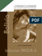 Bolivia - Entre El Ethnicido - Informe 6