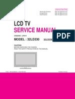 Manual de Servicio Tv Lg 32ld330