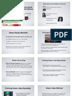 Green Toolkit Webinar