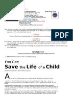 October 2009 Newsletter