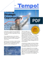 Finding Strategic Opportunities
