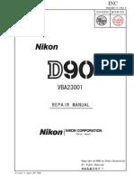 Manual Servicio NIKON D90