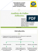 Analisis de Fallas Sellantes. Presentacion Final