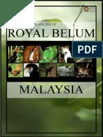 Book on Animal Species of Royal Belum