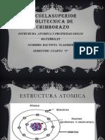 Estructura Atomica y Sus Propiedades