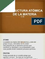 QUIMICA TEORIA ATOMICA