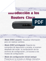 Introduccion a Routers Cisco