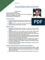 Hoja Curricular- MAYO 2014