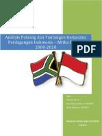 Perdagangan Indonesia Afrika Selatan