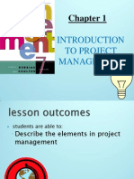 Topic1- Intro to Project management