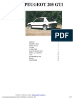 Peugeot 205gti Eng