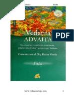 Advaita Vedanta - November 2011
