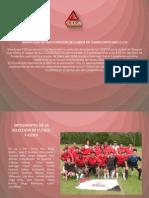 Seleccion de Futbol F-cidca