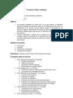Presupuesto Participativo FEPUC - Proyecto Formando Al Futuro Ciudadano