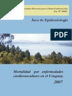 Mortalidad CV 2007 Uruguay