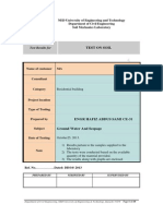 Soil Lab Report Format 1