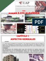 Exposicion ALBAÑERIA E.070
