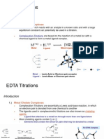 Chapter-12 EDTA Titrations