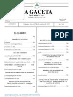 Ley 698 Ley General de Los Registros Públicos en Nicaragua