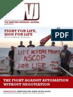 Maritime Workers' Journal Autumn-Winter 2013
