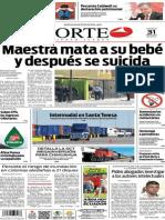 Periódico Norte edición impresa del día 31 de mayo del 2014